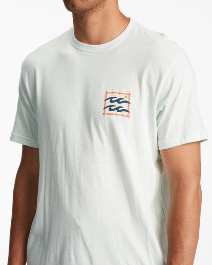 3 Crayon Wave Short Sleeve T-Shirt Multicolor ABYZT00795 Billabong