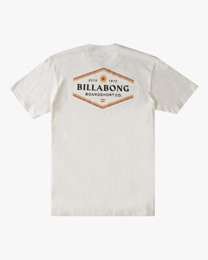 6 Walled Short Sleeve T-Shirt White ABYZT00800 Billabong