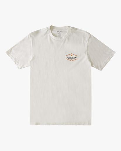 5 Walled Short Sleeve T-Shirt White ABYZT00800 Billabong