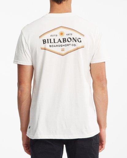 2 Walled Short Sleeve T-Shirt White ABYZT00800 Billabong