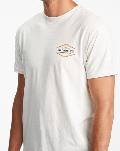 3 Walled Short Sleeve T-Shirt White ABYZT00800 Billabong