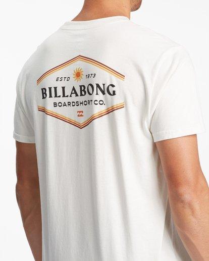 4 Walled Short Sleeve T-Shirt White ABYZT00800 Billabong