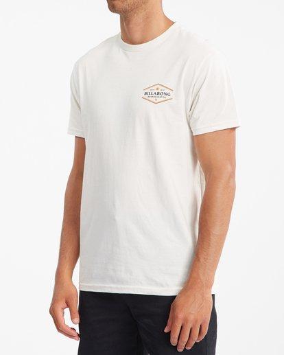1 Walled Short Sleeve T-Shirt White ABYZT00800 Billabong