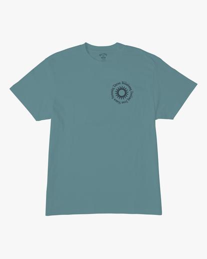 6 Sunshine Short Sleeve T-Shirt Blue ABYZT00801 Billabong