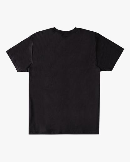 4 Sunshine Short Sleeve T-Shirt Black ABYZT00801 Billabong