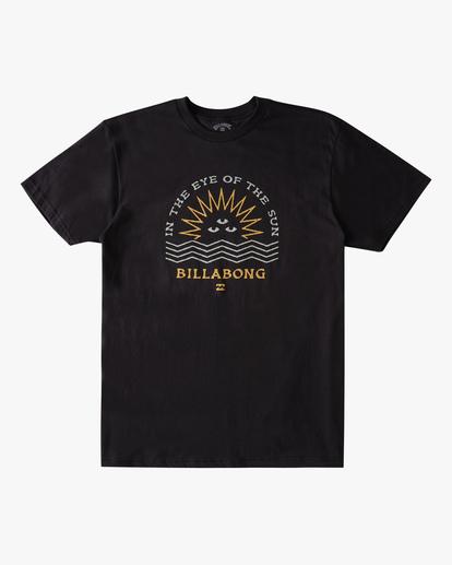 3 Sunshine Short Sleeve T-Shirt Black ABYZT00801 Billabong