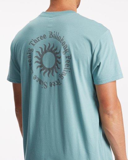 5 Sunshine Short Sleeve T-Shirt Blue ABYZT00801 Billabong