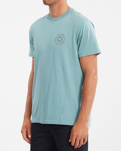 1 Sunshine Short Sleeve T-Shirt Blue ABYZT00801 Billabong