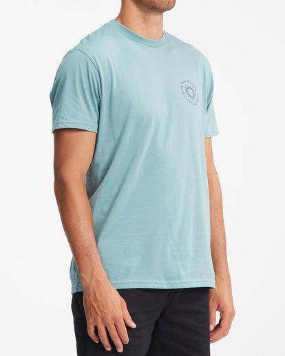 2 Sunshine Short Sleeve T-Shirt Blue ABYZT00801 Billabong