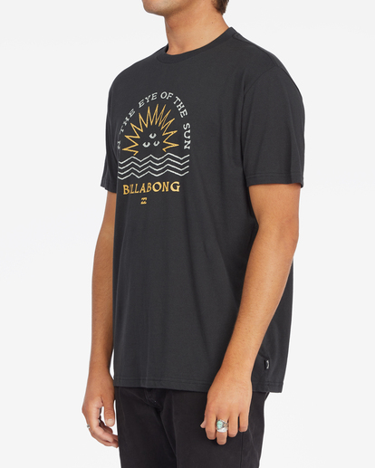 1 Sunshine Short Sleeve T-Shirt Black ABYZT00801 Billabong