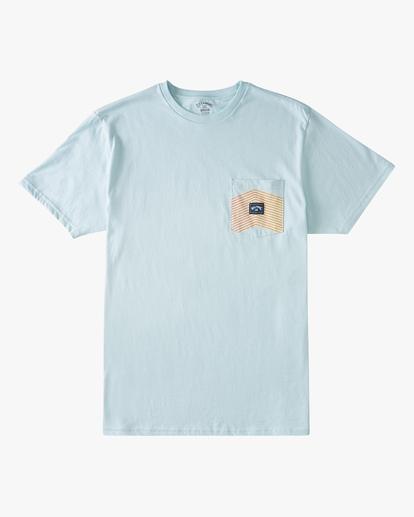 4 Team Pocket T-Shirt Blue ABYZT00807 Billabong