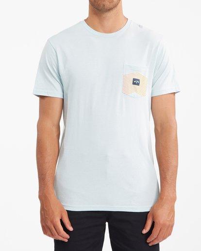 0 Team Pocket T-Shirt Blue ABYZT00807 Billabong