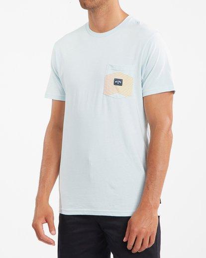 1 Team Pocket T-Shirt Blue ABYZT00807 Billabong