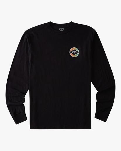 6 Rotor Arch Long Sleeve T-Shirt Black ABYZT00824 Billabong