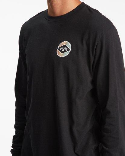 4 Rotor Arch Long Sleeve T-Shirt Black ABYZT00824 Billabong