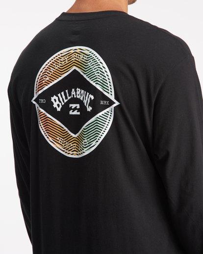 5 Rotor Arch Long Sleeve T-Shirt Black ABYZT00824 Billabong