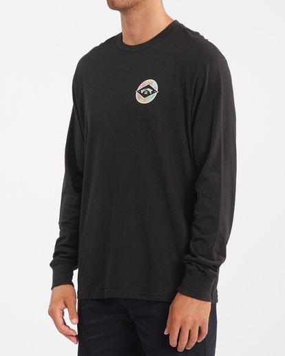 1 Rotor Arch Long Sleeve T-Shirt Black ABYZT00824 Billabong