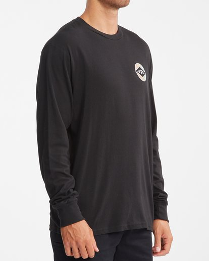 2 Rotor Arch Long Sleeve T-Shirt Black ABYZT00824 Billabong