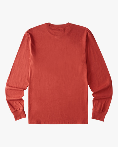 5 Stacked Arch Long Sleeve T-Shirt Red ABYZT00827 Billabong