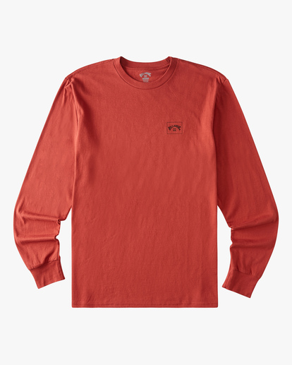 4 Stacked Arch Long Sleeve T-Shirt Red ABYZT00827 Billabong