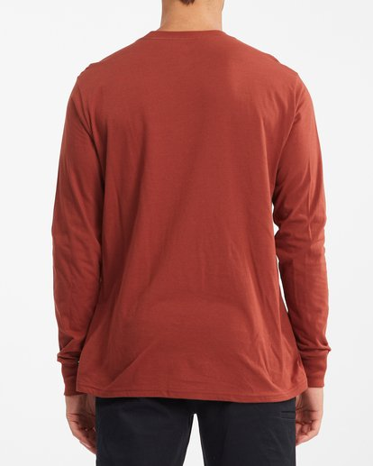 2 Stacked Arch Long Sleeve T-Shirt Red ABYZT00827 Billabong
