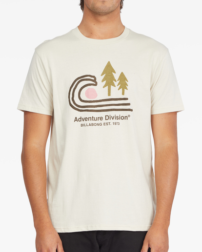 0 Park Lands Short Sleeve T-Shirt Multicolor ABYZT00841 Billabong