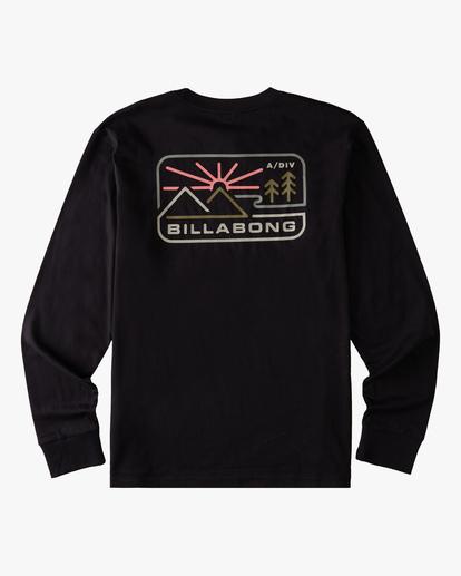 6 A/Div Landscape Long Sleeve T-Shirt Black ABYZT00845 Billabong