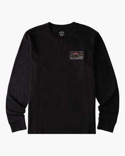 5 A/Div Landscape Long Sleeve T-Shirt Black ABYZT00845 Billabong