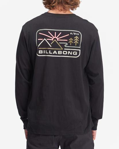 2 A/Div Landscape Long Sleeve T-Shirt Black ABYZT00845 Billabong