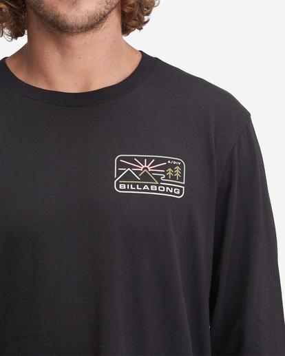 4 A/Div Landscape Long Sleeve T-Shirt Black ABYZT00845 Billabong