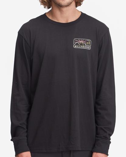 0 A/Div Landscape Long Sleeve T-Shirt Black ABYZT00845 Billabong