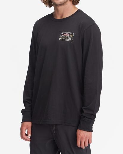 1 A/Div Landscape Long Sleeve T-Shirt Black ABYZT00845 Billabong