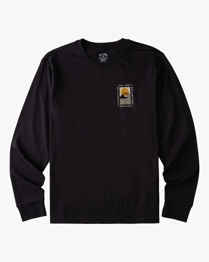 5 A/Div Backdrop Long Sleeve T-Shirt Black ABYZT00848 Billabong