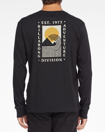 2 A/Div Backdrop Long Sleeve T-Shirt Black ABYZT00848 Billabong