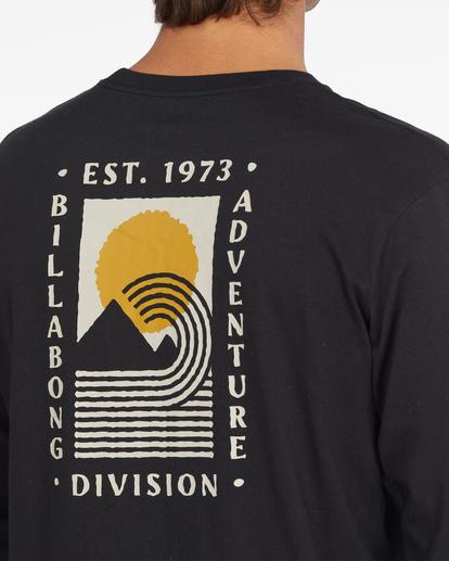 3 A/Div Backdrop Long Sleeve T-Shirt Black ABYZT00848 Billabong