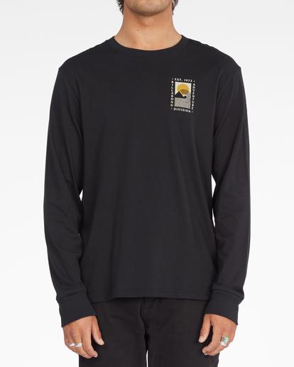 0 A/Div Backdrop Long Sleeve T-Shirt Black ABYZT00848 Billabong