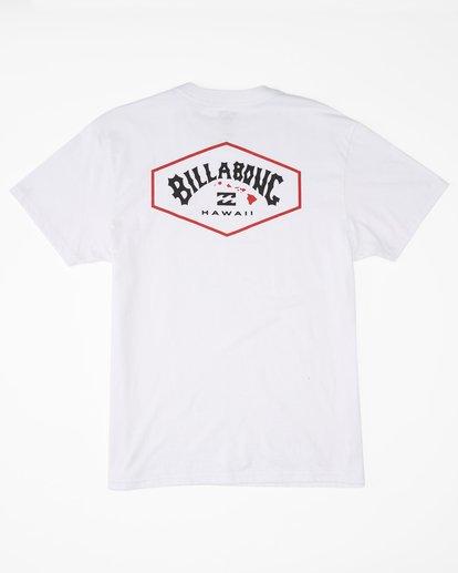 5 Access Island Short Sleeve T-Shirt White ABYZT00991 Billabong