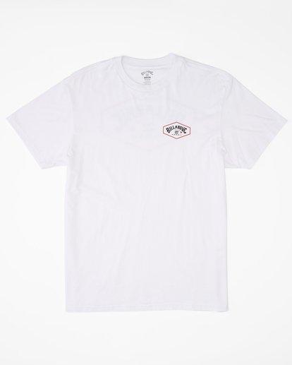 4 Access Island Short Sleeve T-Shirt White ABYZT00991 Billabong