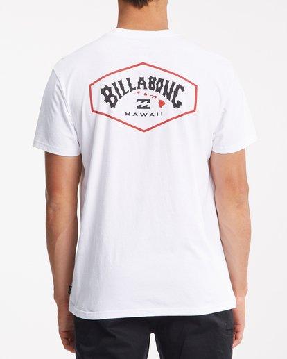 2 Access Island Short Sleeve T-Shirt White ABYZT00991 Billabong