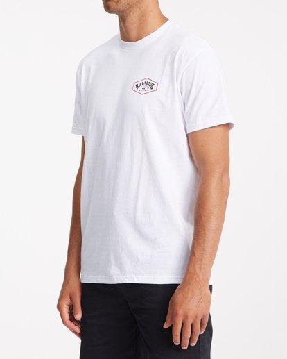1 Access Island Short Sleeve T-Shirt White ABYZT00991 Billabong