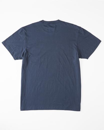 5 Budweiser Frog Neon Short Sleeve T-Shirt Blue ABYZT01025 Billabong