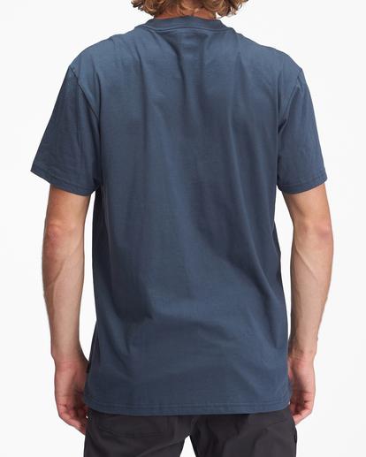 2 Budweiser Frog Neon Short Sleeve T-Shirt Blue ABYZT01025 Billabong