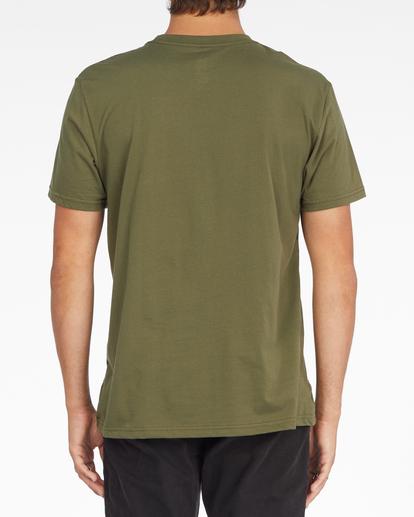 3 Unity Block Short Sleeve T-Shirt Green ABYZT01163 Billabong