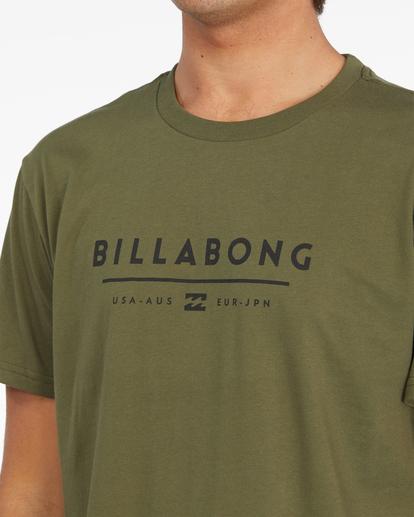 4 Unity Block Short Sleeve T-Shirt Green ABYZT01163 Billabong