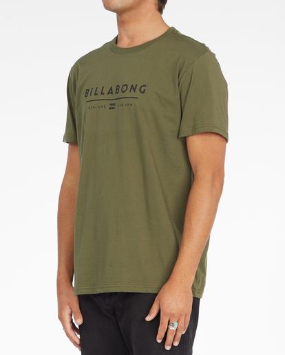1 Unity Block Short Sleeve T-Shirt Green ABYZT01163 Billabong