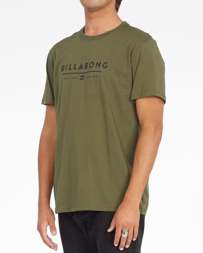 2 Unity Block Short Sleeve T-Shirt Green ABYZT01163 Billabong