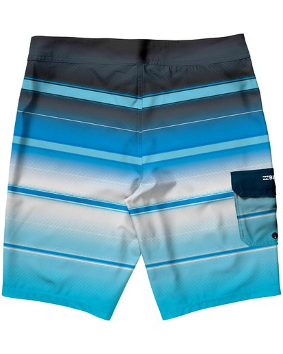 1 Boys' All Day X Stripe Boardshorts  B108JASX Billabong