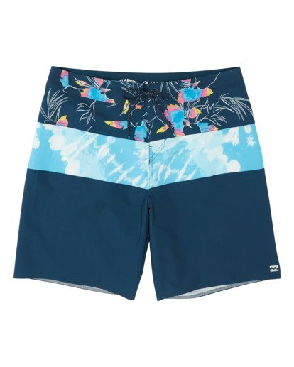 0 Boys' Tribong Pro Boardshorts Blue B1201BTB Billabong