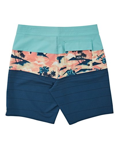 1 Boys' Tribong Pro Boardshorts Multicolor B1201BTB Billabong