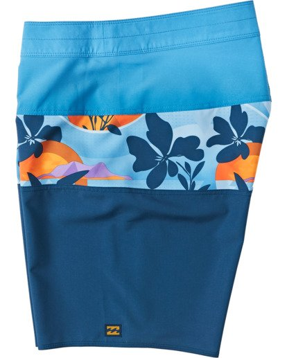 2 Boys' Tribong Pro Boardshorts Yellow B1201BTB Billabong